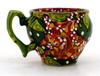 Чашка-глечик керамическая 0.2 л, (13)