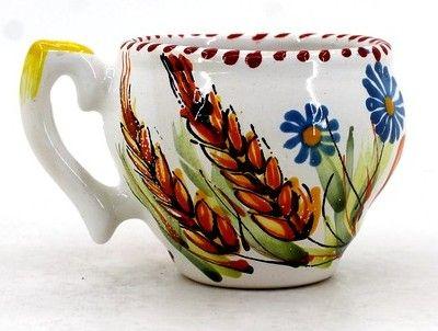 Чашка-глечик керамическая 0.2 л, (16)