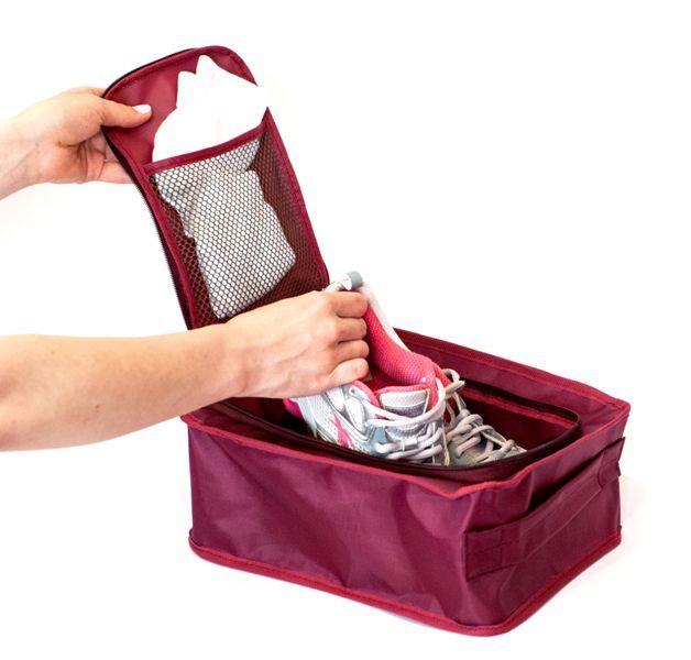 """Органайзер для обуви """"Sport&Travel"""", бордовый"""