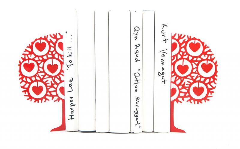 """Упор для книг """"Дерево любви"""""""