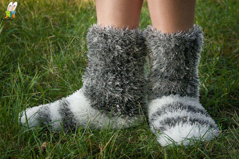 Сверхпушистые носки нарядные, 02