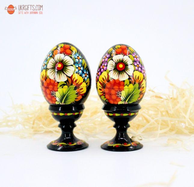 Пасхальный украинский сувенир «Яйцо-шкатулка» (03)