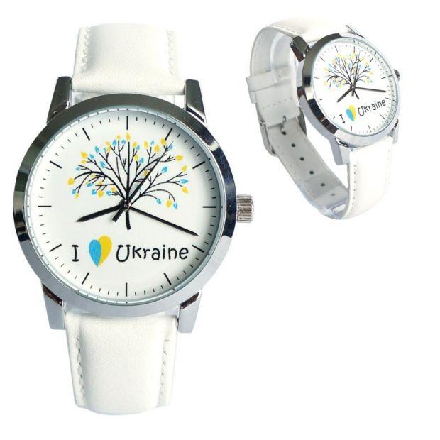 """Часы наручные """"Я люблю Україну"""""""