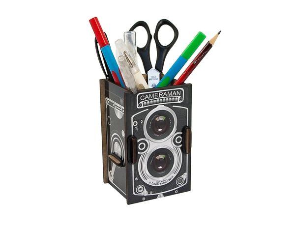"""Органайзер для ручек и карандашей """"Фотокамера"""""""
