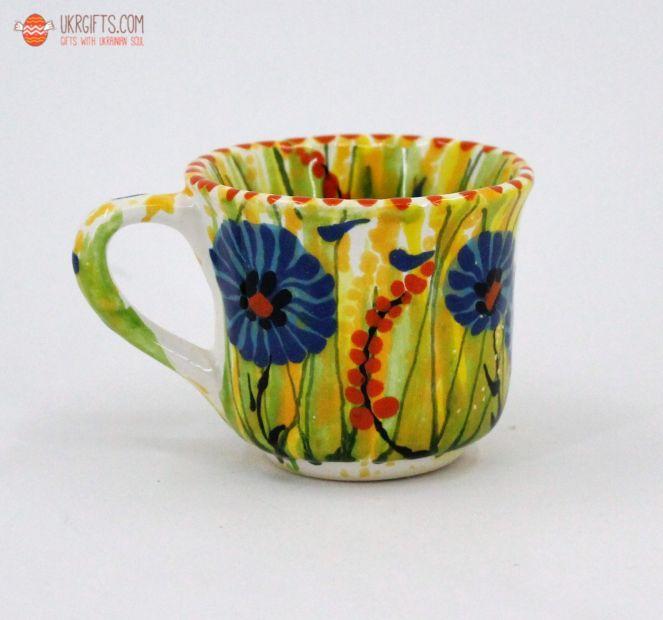 Чашка для кофе керамическая 0.1 л, (06)