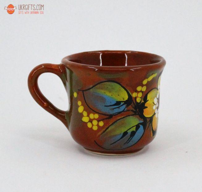Чашка для кофе керамическая 0.1 л, (11)
