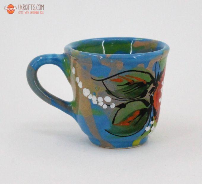 Чашка для кофе керамическая 0.1 л, (13)