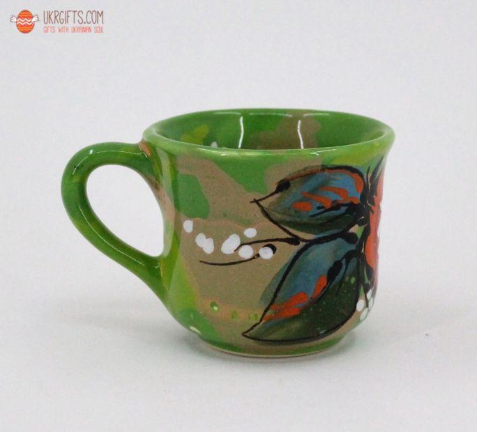 Чашка для кофе керамическая 0.1 л, (14)