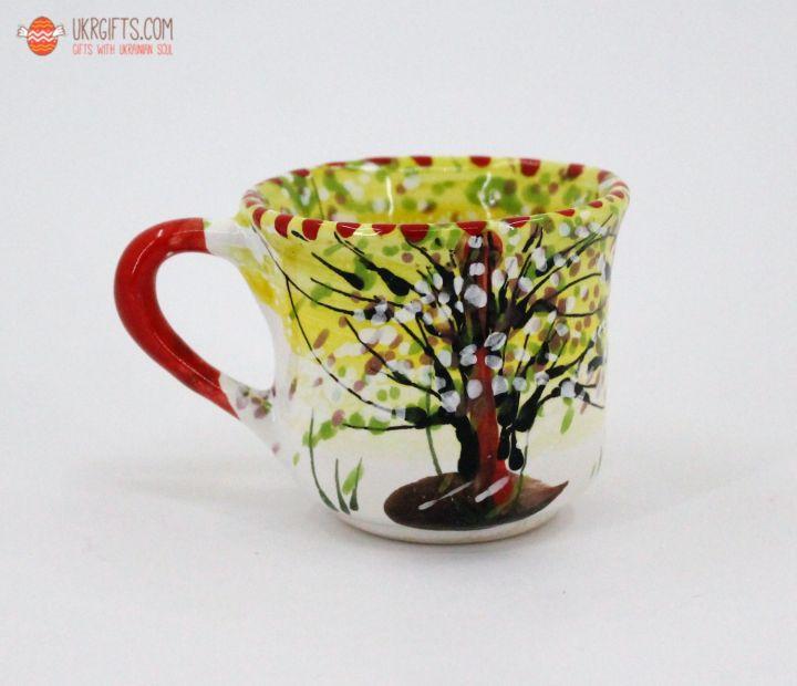 Чашка для кофе керамическая 0.1 л, (16)