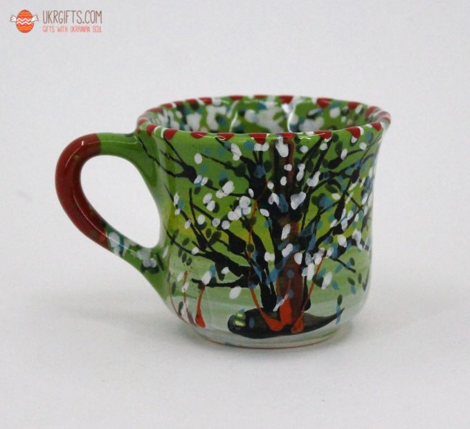 Чашка для кофе керамическая 0.1 л, (19)