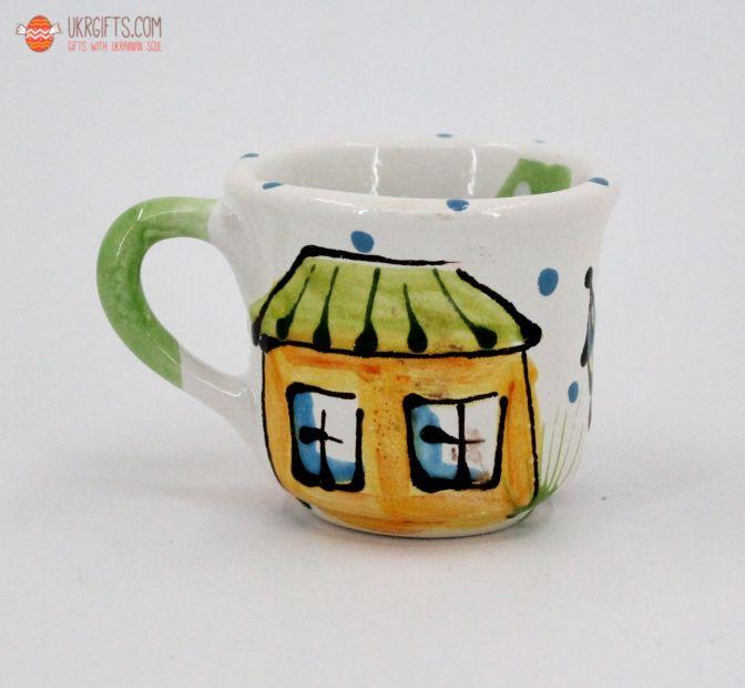 Чашка для кофе керамическая 0.1 л, (20)