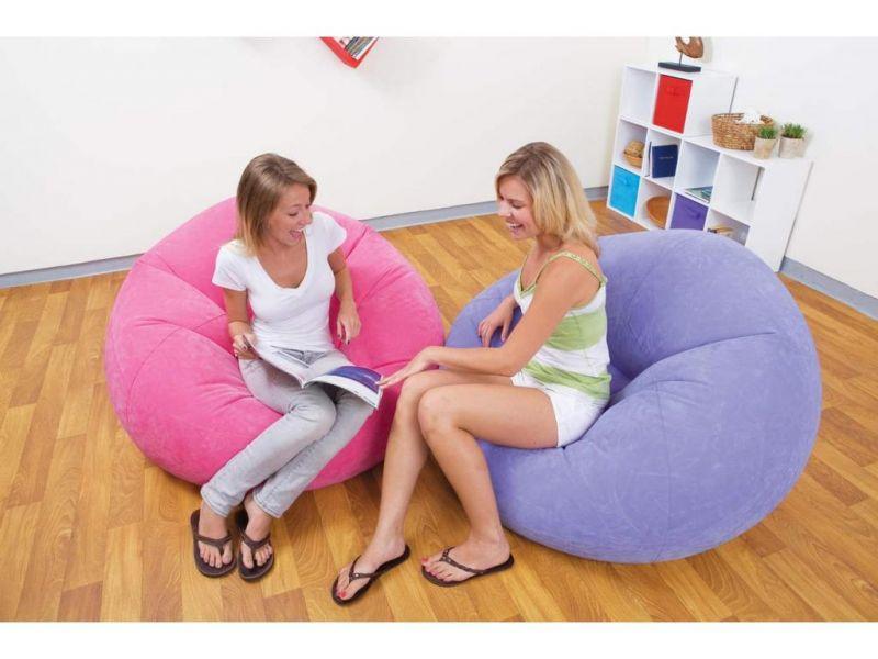 """Надувное кресло """"Гламур"""" (3 цвета в ассортименте)"""