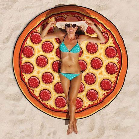"Коврик для пляжа ""Пицца"""