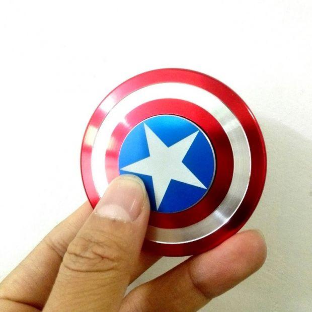 Спиннер Hand Fidget Spinner Капитан Америка