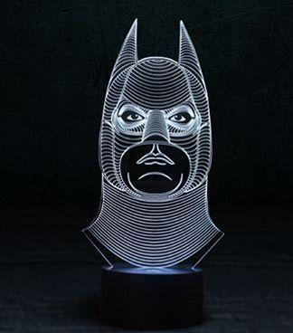 """Светодиодный светильник 3D """"Бэтмен"""""""