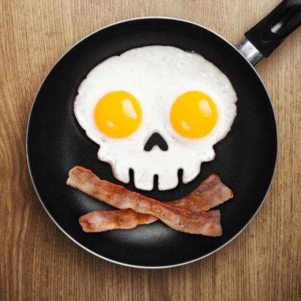 """Форма для жарки яиц """"Череп"""""""
