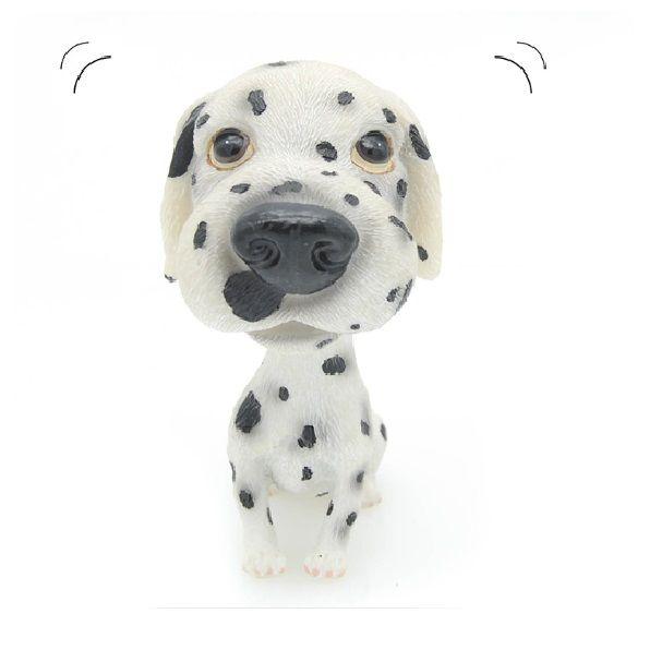 """Мимимишный щенок, качающий головой """"Далматинец"""""""