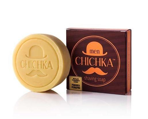 """Натуральное мыло для традиционного бритья """"Chichka"""" (ромашка, розмарин)"""