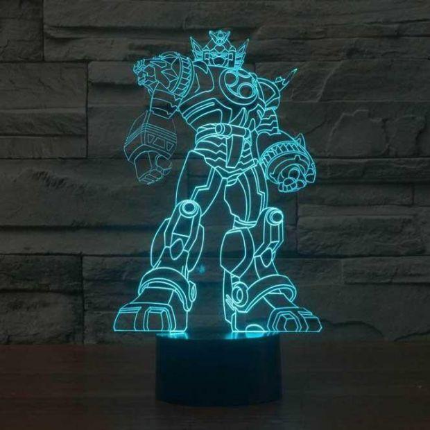 """Светодиодный светильник 3D """"Трансформер"""""""