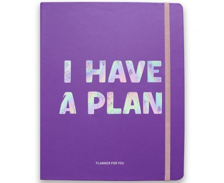 Планер I have a plan, фиолетовый