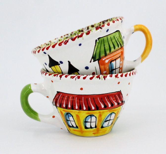 Чашка керамическая 0.5л. (016) (ручная работа)