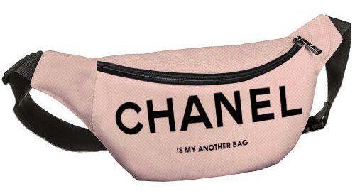 """Напоясная сумка, бананка """"Шанель"""""""