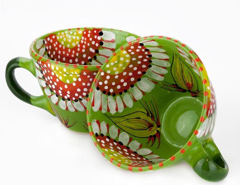 Чашка керамическая 0.5л. (32) (ручная работа)