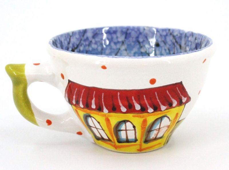 Чашка керамическая 0.5л. (014) (ручная работа)