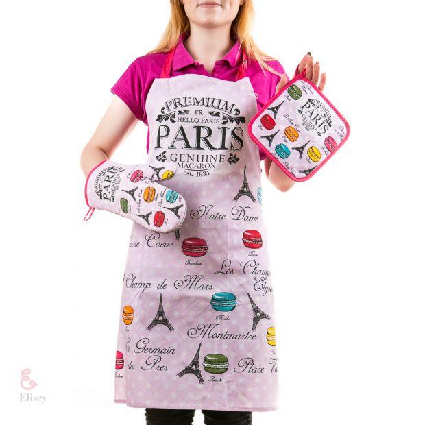 "Набор для кухни ""Париж в розовом"