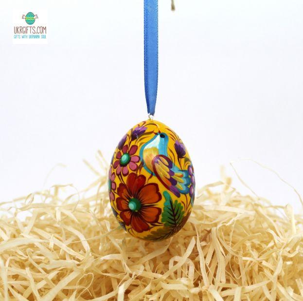Пасхальное яйцо (писанка) с подвеской (26)