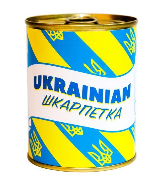 """Носки в консервной банке """"Ukrainian шкарпетка"""""""