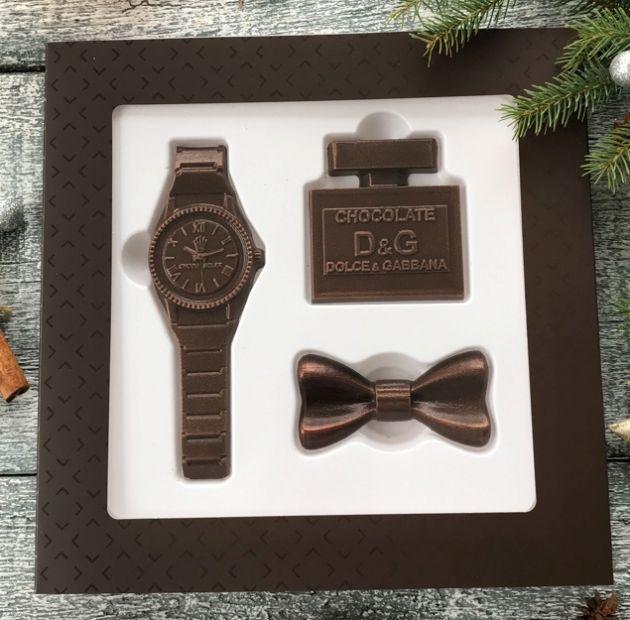 Шоколадный набор для стильного мужчины