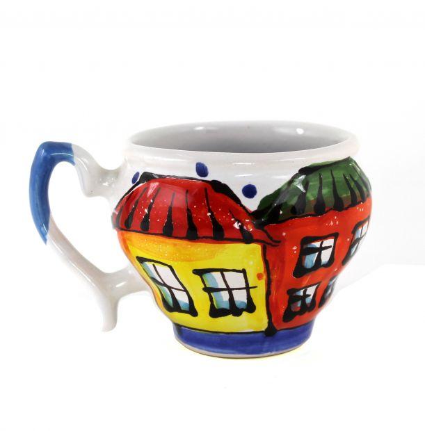 Чашка-глечик керамическая 0.2 л, (05)