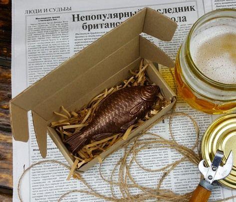 Шоколадный подарок Рыбаку