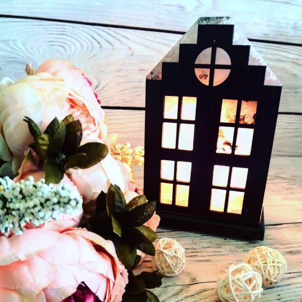 Соляная лампа «Голландский домик»