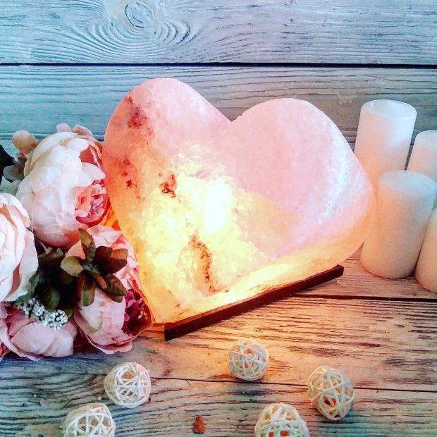 """Соляной светильник """"Сердце"""" 4-5 кг"""