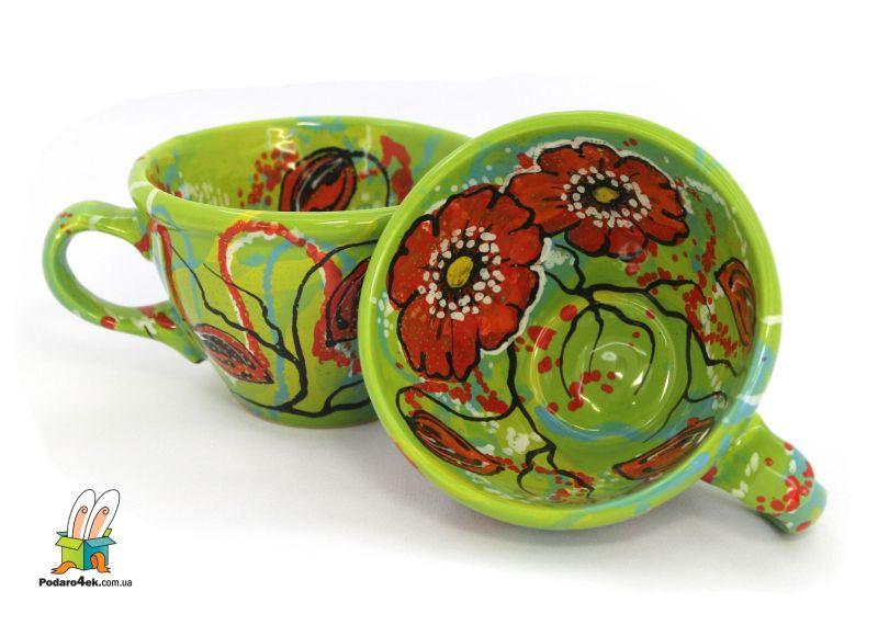 Чашка керамическая 0.5л. (57) (ручная работа)
