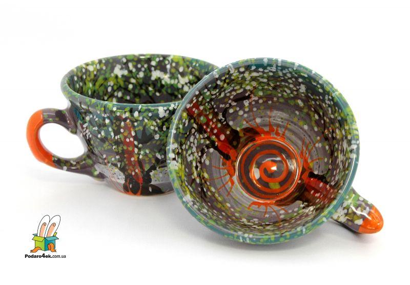 Чашка керамическая 0.5л. (60) (ручная работа)