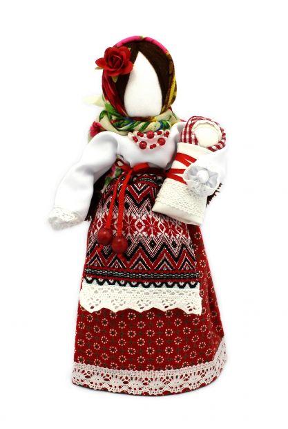 """Авторская кукла-мотанка """"Матуся с младенцем"""""""