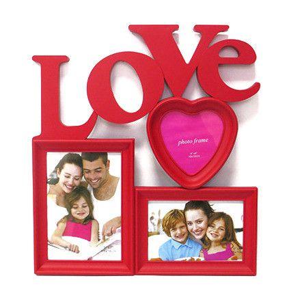 "Мультирамка для 3х фотографий ""Love"""