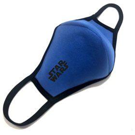 """Многоразовая защитная маска для лица """"Звездные Войны""""  в синем"""