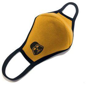 """Многоразовая маска для лица """"Дарт Вейдер"""",  в желтом"""