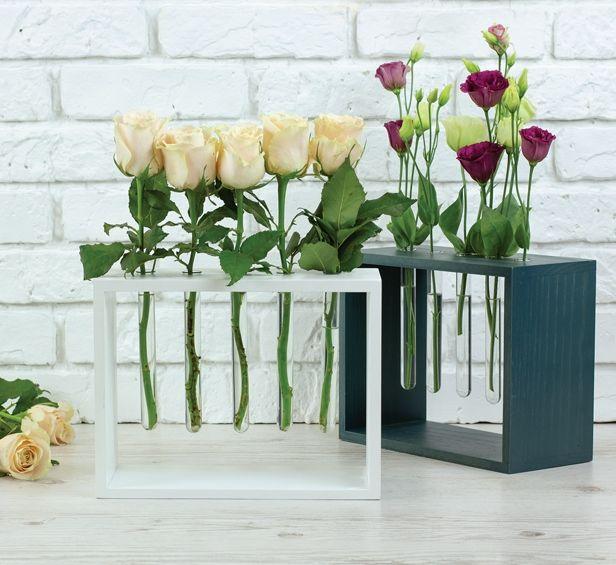 Оригинальная ваза - подставка для цветов, на 5 шт