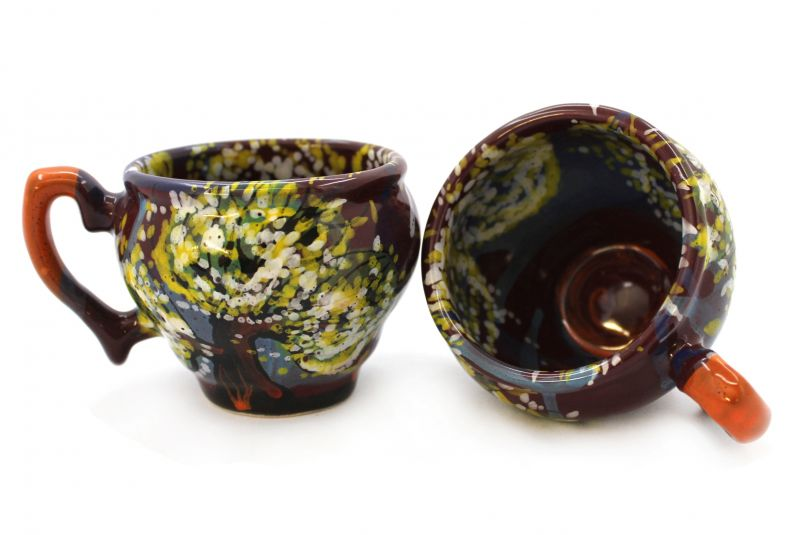 Чашка-глечик керамическая 0.2 л, (07)