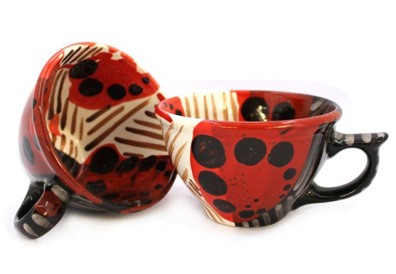 Чашка керамическая 0.5л. (34) (ручная работа)