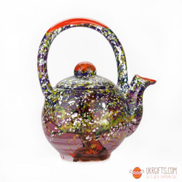 Чайник керамический (06) (ручная работа)