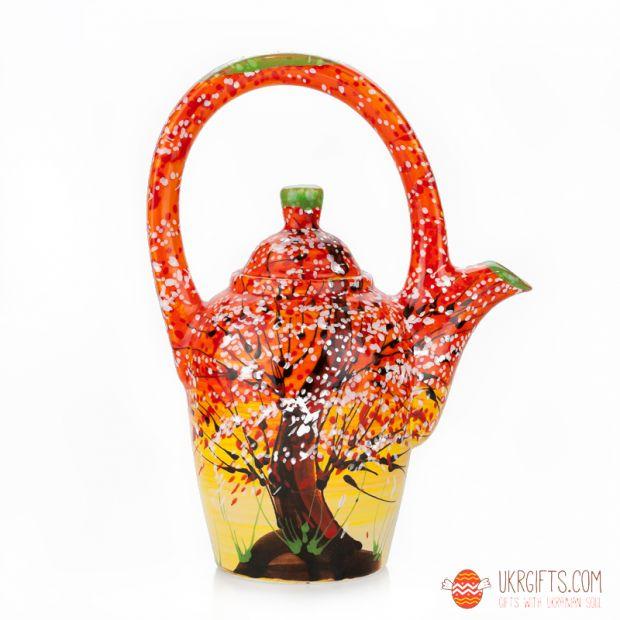 Чайник керамический (07) (ручная работа)