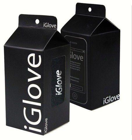 Перчатки для сенсорных телефонов IGLOVE (Черные) Звони, не снимая!