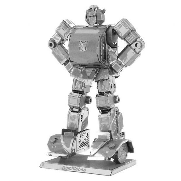 Bumblebee - 3D модель для сборки, металлический конструктор