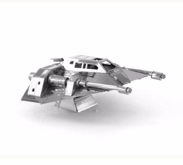 Snow spacecraft - 3D модель для сборки, металлический конструктор, серия Star Wars